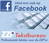 ZZP tekstbureau Facebook badge